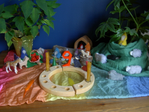 L anniversaire de notre grande f e le jardin de julie for Sujet decoratif pour jardin