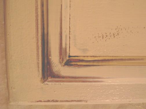R nover une cuisine en faux fini champ tre le jardin de - Peinture imitation bois ca existe ...